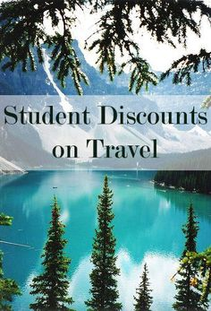 Get student discounts on travel! Flights, rental cars, hotels etc. <3
