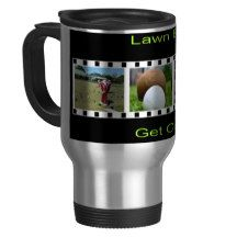 Get Out There And Bowl, Travel Commuter Coffee Mug