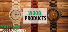 Wood Accessories: introducing our Eco range of accessories including sunglasses and watches. These are great and affordable Trend Accessories, Wood Watch, Range, Watches, Sunglasses, Fashion, Wooden Clock, Moda, Cookers