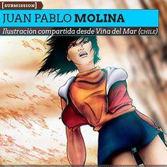 Ilustración. Un lugar en Deimos de JUAN PABLO MOLINA  Ilustración compartida desde Viña del Mar (CHILE).      Leer más: http://www.colectivobicicleta.com/2012/11/ilustracion-de-molinart.html#ixzz2CPtkfZQZ