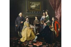 New acquisition for the Cincinnati Art Museum (October 2013) | Nathaniel Dance, A Portrait of Sir James and Lady Hodges, their Sons John, James and Henry, and their Daughters Mary and Elizabeth, ca. 1766.