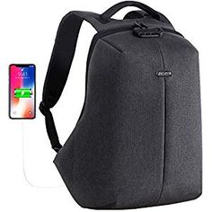 Buy OUTJOY Anti Theft Travel Backpack Waterproof Laptop Backpack for Men Women Lockable Computer Backpack with USB Charging Port Padded Compartment for inches Laptop School Backpack TSA Friendly Grey Best Carry On Backpack, Men's Backpack, Computer Backpack, Computer Bags, Waterproof Laptop Backpack, Anti Theft Backpack, Luggage Straps, School Backpacks, Men Bags