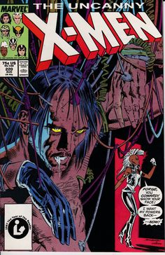 Uncanny X-Men 220 August 1987 Issue Marvel Comics by ViewObscura