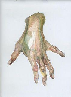 grandmothers hand