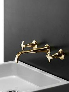 BRASS would be just as lovely. Even stainless would be better than average.