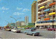 vintage postcard : beirut