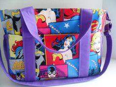 Wonder Woman Diaper Bag May 2017