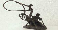 """Movement Captured in Bronze"" de Jits Bakker em São Brás de Aportel! | Algarlife"