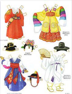 Korean paper doll   wedding & ordinary clothes   petitjoli   Flickr
