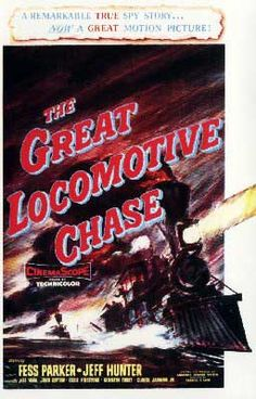 The Disney Films: Great Locomotive Chase (The) 1956