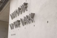 Dialog in the dark por BMIX Environmental Graphic Design, Environmental Graphics, Storefront Signage, Signage Board, Wayfinding Signs, Sign System, Beton Design, Exterior Signage, Signage Design