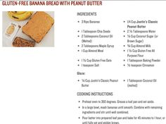 banana bread with peanut butter