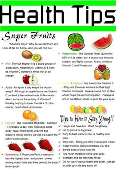 Healthy tips -  Click pic for your free gift