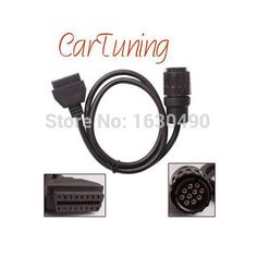 bmw icom a b c diagnostic cable 10 pin cable for bmw icom : CarTuning For bmw icom a b c diagnostic cable 10 pin cable for bmw icom interface icom D 10 pin obd to obd2 adapter.  http://www.aliexpress.com/store/product/CarTuning-For-bmw-icom-a-b-c-diagnostic-cable-10-pin-cable-for-bmw-icom-interface/1630490_32305877799.html?spm=0.0.0.0.ScKC5Q  . 10Pin obd to obd2 adapter connector cable for BMW ICOM.  Item name: ICOM 10Pin obd connector.  Item type: OBD to OBD 2 adapter cable.  Item suit for…