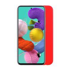 """ΘΗΚΗ SAMSUNG A51 A515 6.5"""" SILICON TPU RED Samsung Cases, Phone, Red, Wallpaper, Fitness, Telephone, Wallpapers, Phones, Keep Fit"""