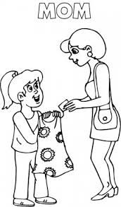 Children Frisby Play Coloring Page