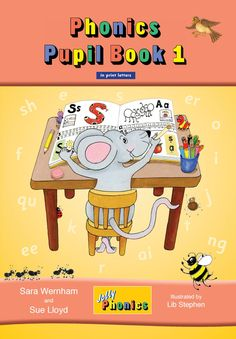 Jl772 jolly phonics pupil book 1 (colour in print letters)