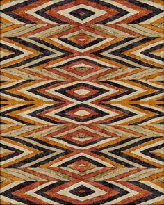 Robin Gray design - diamond stripe