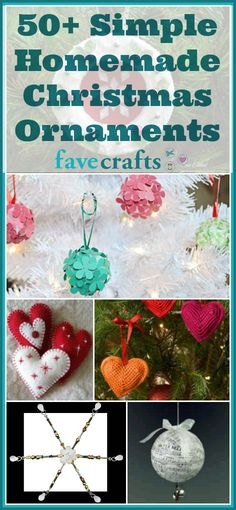 50 simple homemade christmas ornaments from ornaments that look like candy to beaded