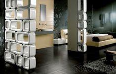 Naxos X wall mur design en céramique