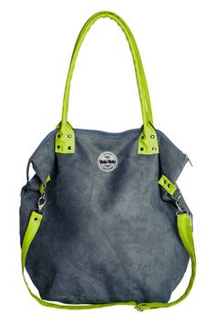 060f8b60bf Shoulder Bags – Mana Mouse   lime zipper – a unique product by MANA-MANA