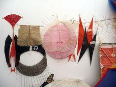Anna Rubin - paper kite collection