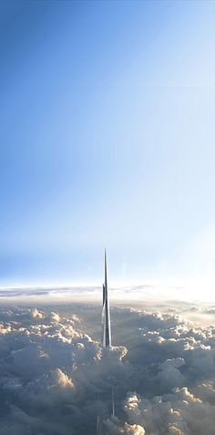 Kingdom Tower Jeddah. This will be the highest building in the world. 1000 meters high!