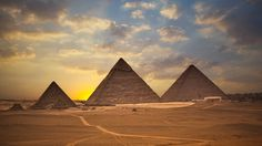 Pyramids of Giza, Cairo, Egypt.  You can't imagine how amazing they are until you are standing next to them.  So unbelievable!