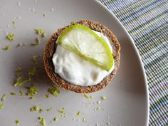 Lemon-Lime Tarts - Love recipes from The Candida Diet