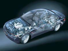2001-2005 BMW 745i (E65) - Illustration unattributed