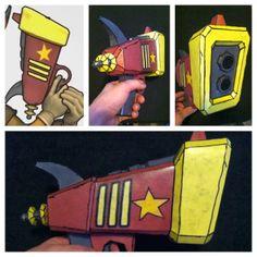 [sly cooper universe] carmelita's shock pistol