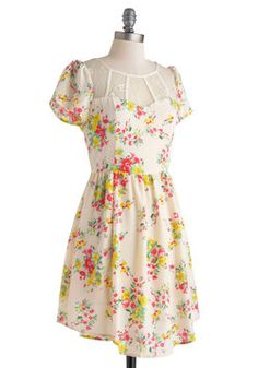 Perfectly Pastoral Dress, #ModCloth 54.99