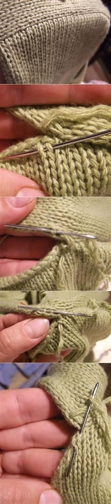 How to Knit Sleeve True ?