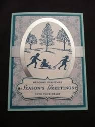 Stampin up welcome christmas - Google Search