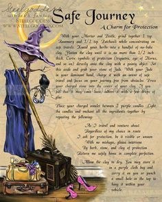Crone Cronicles: Safe Journey Charm for protection