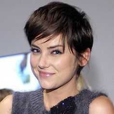 Image result for short dark haircuts