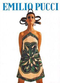 Emilio Pucci fashion design.