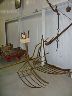 Image result for how do museums display scythes