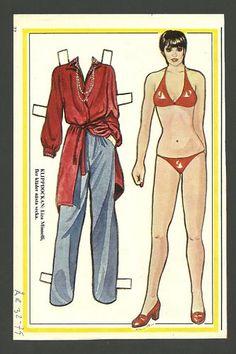 Liza Minnelli Vintage Scarce Paper Doll | eBay