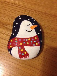 malen mit kindern weihnachtsbasteln steine bemalen