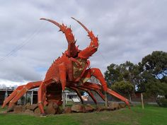 Lobster statue, Kingston, South Australia