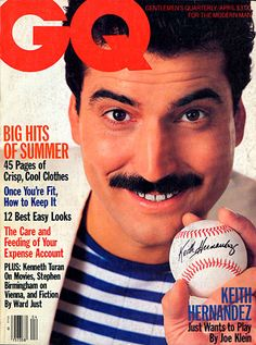 Keith Hernandez for GQ, April 1986 #mets