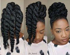 Awesome! Hair goals @dr_kami  #repost #hairgoals #blackhair #nicehair #makeup #awesome #girls