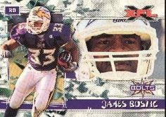 2001 Topps XFL #3 James Bostic by Topps XFL. $0.99. 2001 Topps Co. trading card in near mint/mint condition, authenticated by Seller