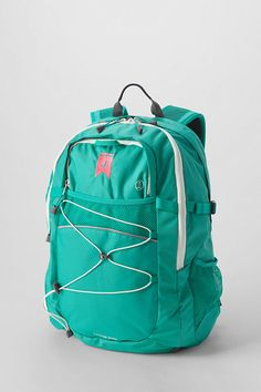 Solid Teal FeatherLight™ Large Backpack - Shop more backpack styles and sizes at Lands' End