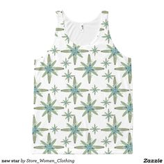 new star All-Over print tank top #new #star All-Over #print #tank #top #girl #girly #woman #women #fashion #kid #children #vogue #new #star