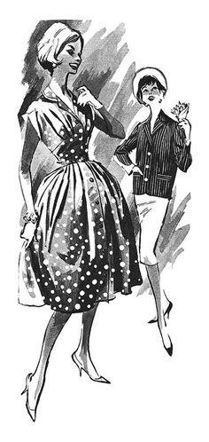 Detail from a 1959 Burlington Catalog ad.