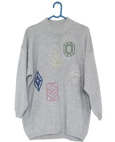 all hands on deck : sweaters / like the gems embroidered