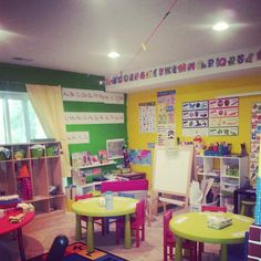 Small Room Home Daycare Layout Childcare Ideas