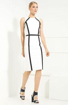 Stretch Cotton Sheath Dress, Michael Kors, Nordstrom.com, $1695, ItsGorgeousSheLovesIt.tumblr.com